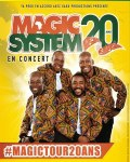 TOURNEE / Toutékalé pour la tournée de Magic System ! Début le 13 septembre à 'lOlympia (Paris)