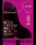 Nous n'irons pas à New-york, festival de jazz à Paris