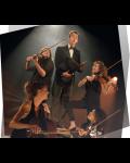 concert Le Siffleur Et Son Quatuor A Cordes