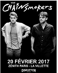 Folie à venir au Zénith de Paris pour le retour live de The Chainsmokers !
