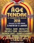 AGE TENDRE LA TOURNEE DES IDOLES 2018