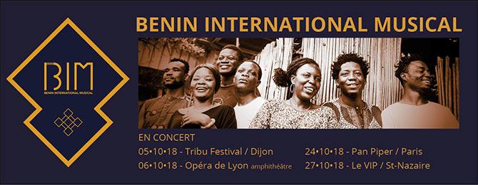 BENIN INTERNATIONAL MUSIC