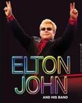 Elton John à l'Olympia en décembre 2013