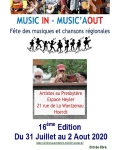 MUSIC IN - MUSIC AOUT