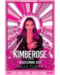 Kimberose bientôt en concert ! Elle présentera son nouvel album 'Out' à la Salle Pleyel en décembre 2021