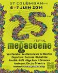 Programmation Festival Mégascène 2014