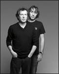 Yann Tiersen et Miossec, frère de scène, en concert ensemble.