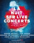 Vivez en direct la Nuit SFR Live Concerts le 26 Octobre à partir de 22h00