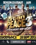 Urban Peace 3 :  la crème du rap français au Stade de France