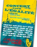 SOS Racisme organise le 14 juillet un concert géant pour l'égalité
