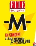 -M- en concert exceptionnel à l'Elysée Montmartre !