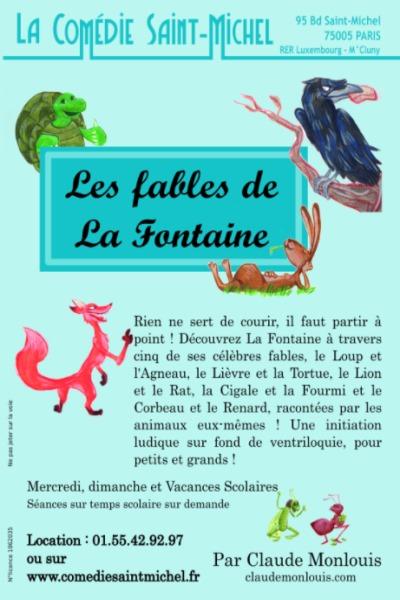 LES FABLES DE LA FONTAINE (CLAUDE MONLOUIS)