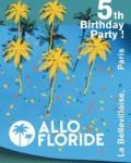 concert Allo Floride 5th Birthday