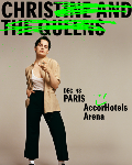 RESERVER / Chris(tine & The Queens) ajoute une seconde date à Paris à l'AccorHotels Arena. A réserver vite !