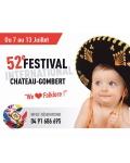 FESTIVAL DE FOLKLORE DE CHATEAU GOMBERT