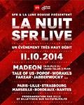 Concerts et set DJ à La nuit SFR Live Concerts
