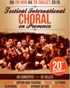 FESTIVAL CHORAL INTERNATIONAL EN PROVENCE