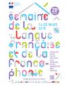 SEMAINE DE LA LANGUE FRANCAISE ET DE LA FRANCOPHONIE