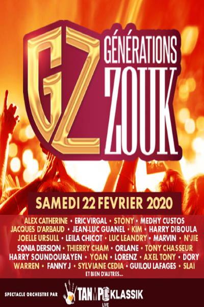 GENERATIONS ZOUK - 40 ANS/40 TUB
