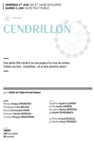 CENDRILLON (BALLET DE L'OPERA GRAND AVIGNON)