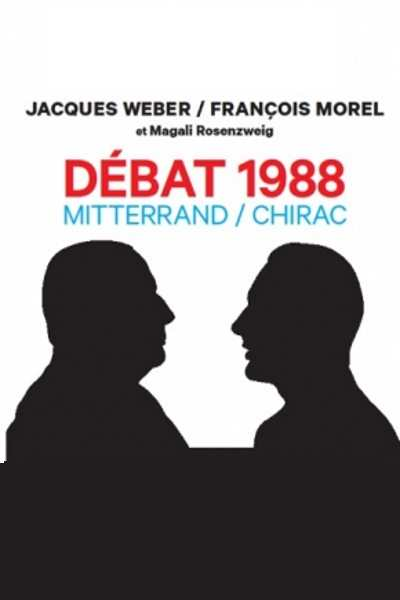1988, LE DEBAT MITTERRAND - CHIRAC