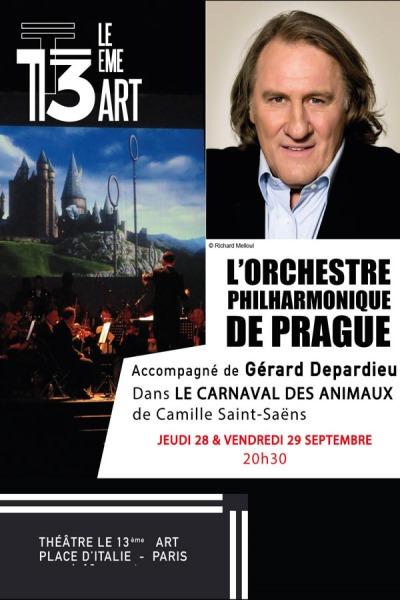 GERARD DEPARDIEU & L'ORCHESTRE PHIL. DE PRAGUE