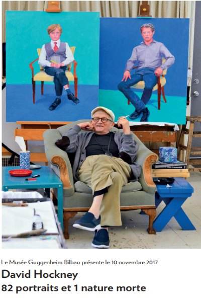 DAVID HOCKNEY : 82 PORTRAITS ET 1 NATURE MORTE