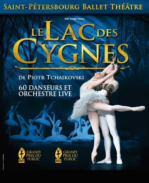 LE LAC DES CYGNES (BALLET ET ORCHESTRE DE ST PETERSBOURG )