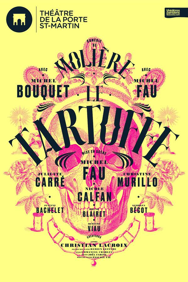 LE TARTUFFE - MICHEL BOUQUET / MICHEL FAU