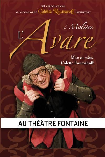 L'AVARE - COLETTE ROUMANOFF