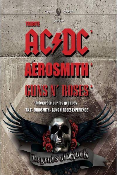 Legends of Rock AC/DC, AEROSMITH, GUNS