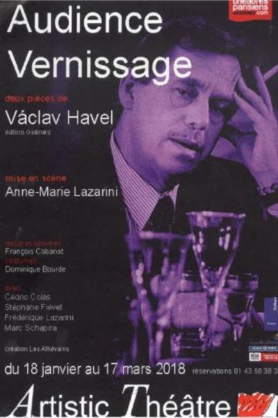 AUDIENCE ET VERNISSAGE DE VACLAV HAVEL