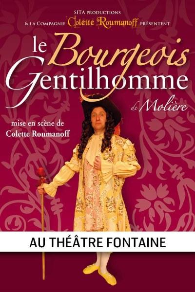 LE BOURGEOIS GENTILHOMME ( COLETTE ROUMANOFF)