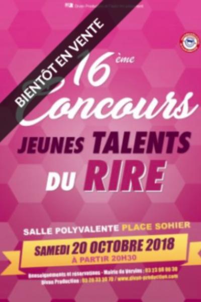 CONCOURS JEUNES TALENTS DU RIRE