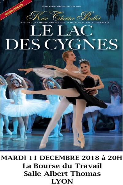 LE LAC DES CYGNES (GRAND BALLET DU KIEV THEATRE BALLET)