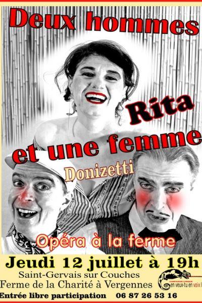 DEUX HOMMES ET UNE FEMME, RITA
