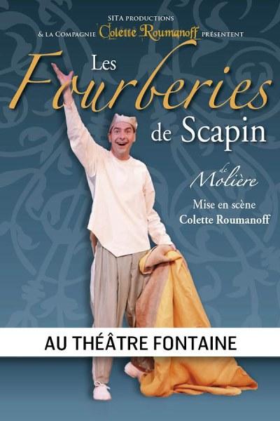LES FOURBERIES DE SCAPIN (COLETTE ROUMANOFF)