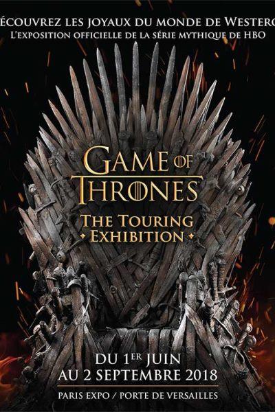 AGENDA / Game of Thrones : The Touring Exhibition, l'exposition à la Porte de Versailles