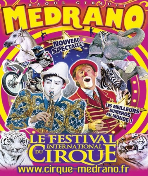 MEDRANO - FESTIVAL INTERNATIONAL DU CIRQUE