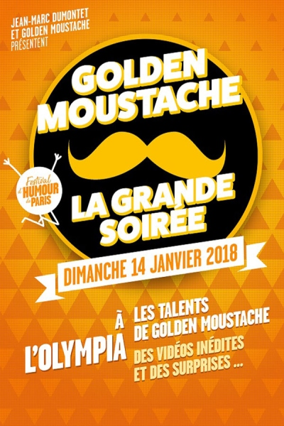 LA GRANDE SOIREE GOLDEN MOUSTACHE