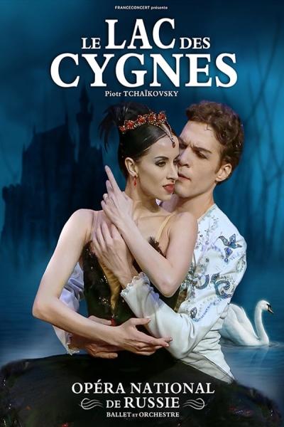 LE LAC DES CYGNES (Ballet et orchestre de l'opera national de Russie)