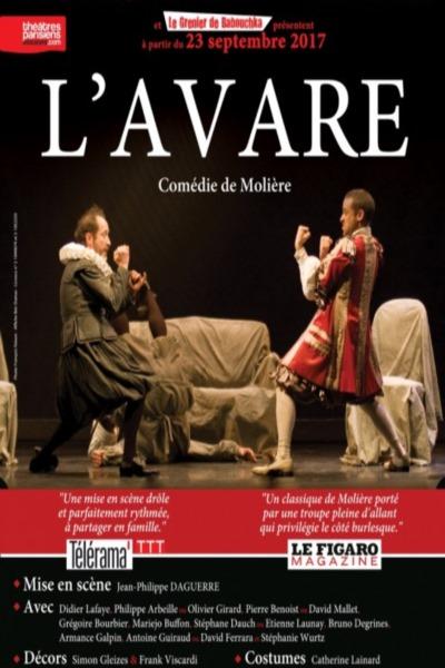 L'AVARE (JEAN PHILIPPE DAGUERRE)