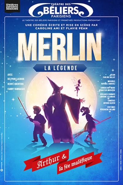 MERLIN : LA LEGENDE ARTHUR ET LA FEE MALEFIQUE