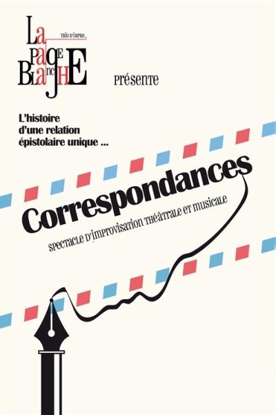 LA PAGE BLANCHE - CORRESPONDANCES