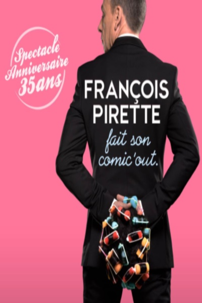 FRANCOIS PIRETTE FAIT SON COMIC'OUT