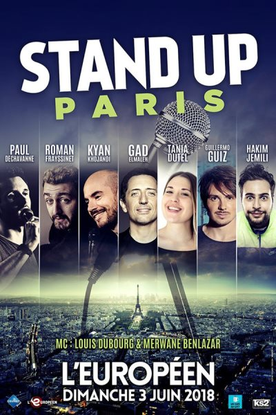 STAND UP PARIS