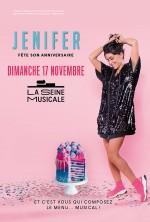 Jenifer fêtera son anniversaire lors d'un concert à la Seine Musicale le 17 novembre