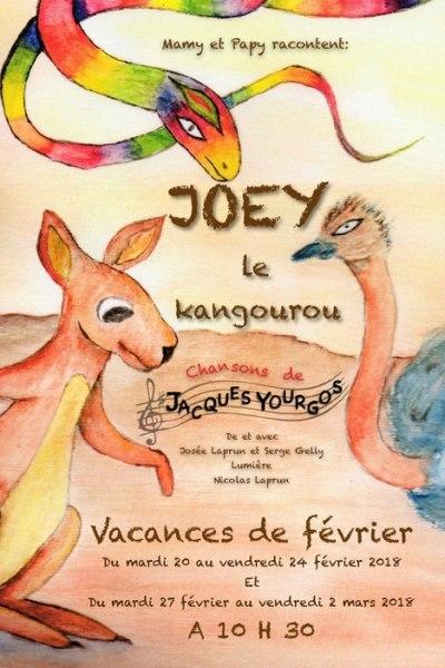 JOEY LE PETIT KANGOUROU