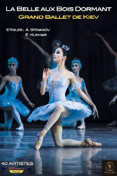 concert La Belle Au Bois Dormant (grand Ballet De Kiev)