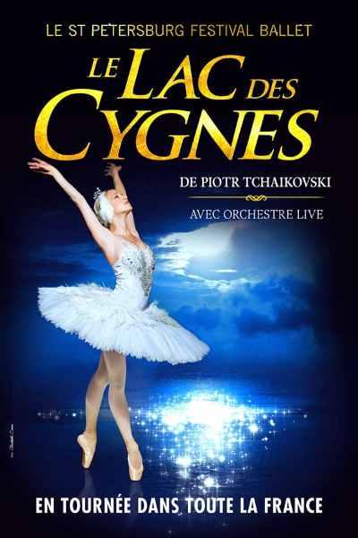 concert Le Lac Des Cygnes (st Petersbourg Festival Ballet)